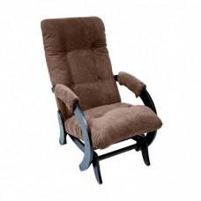 Кресло глайдер Комфорт Модель 68 венге/ Verona Brown