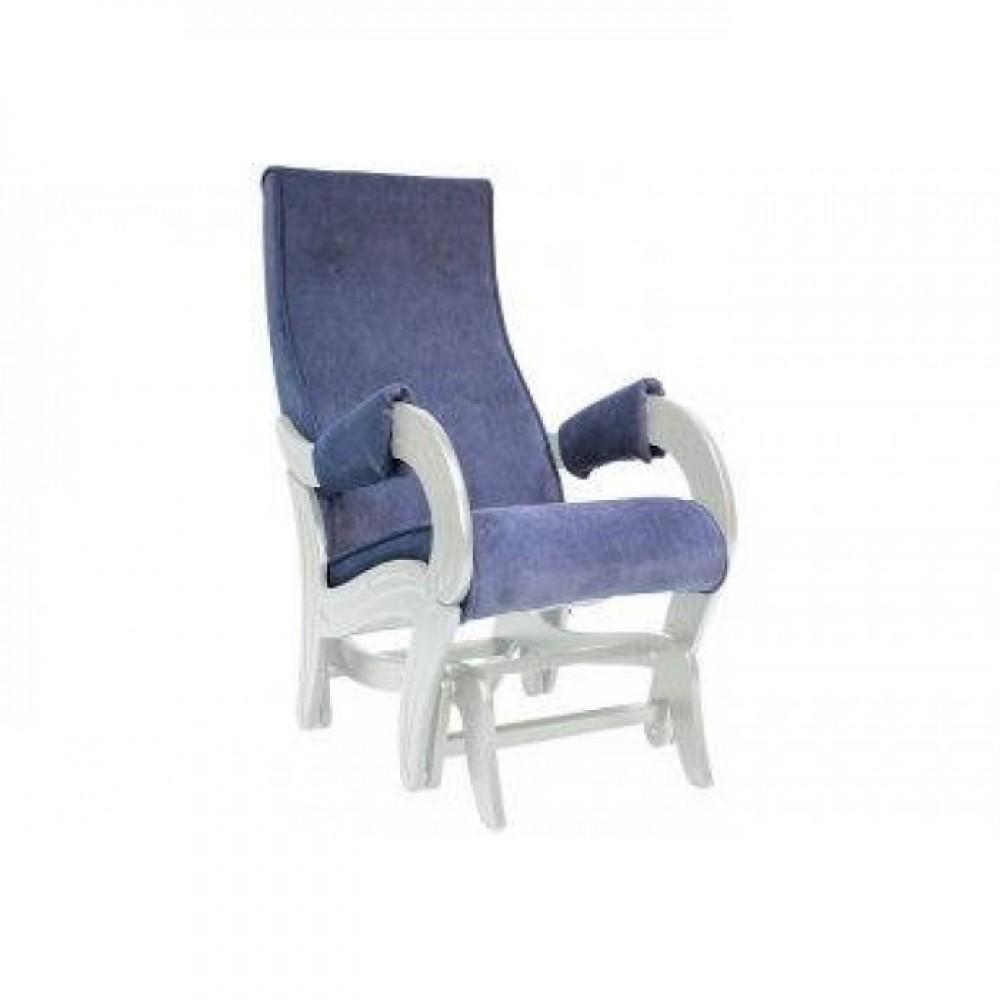 Кресло глайдер Комфорт Модель 708 дуб шампань с патиной/ Verona Denim Blue
