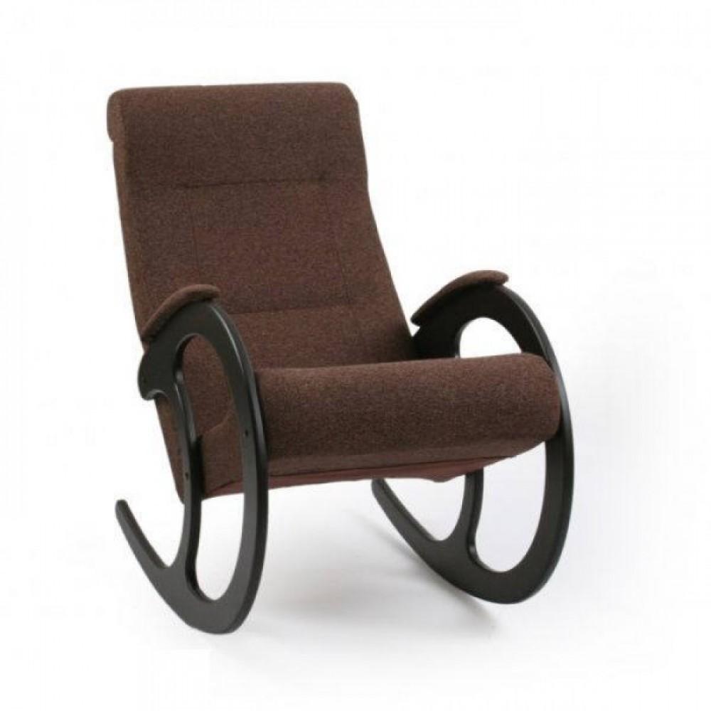 Кресло-качалка Комфорт Модель 3 венге/ Malta 15 A
