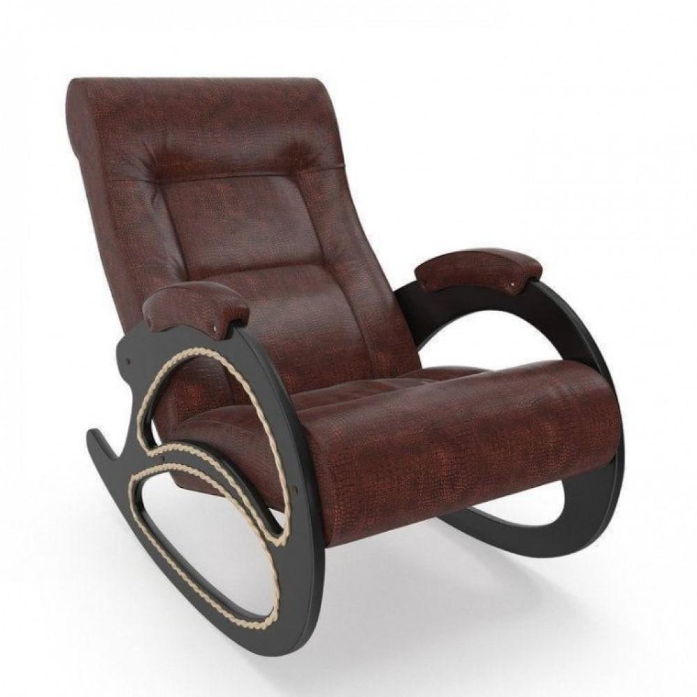 Кресло-качалка Комфорт Модель 4 венге/ Antik crocodile
