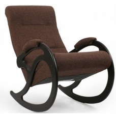 Кресло-качалка Комфорт Модель 5 венге/ Malta 15 A