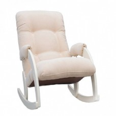 Кресло-качалка Комфорт Модель 67 дуб шампань/ Verona Vanilla