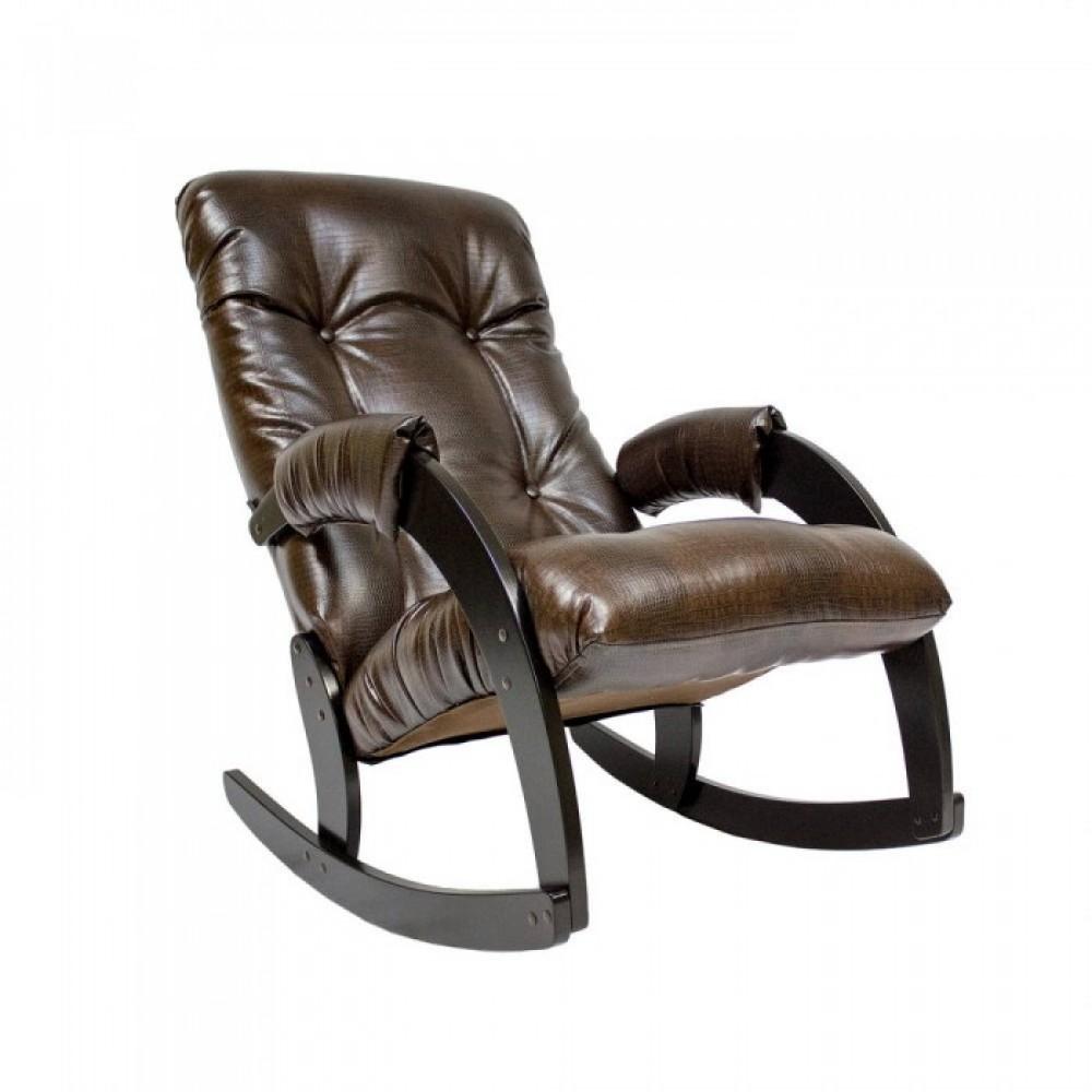 Кресло-качалка Комфорт Модель 67 венге/ Antik crocodile