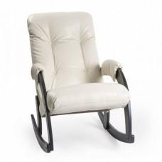 Кресло-качалка Комфорт Модель 67 венге/ Polaris Beige