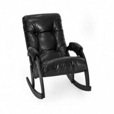 Кресло-качалка Комфорт Модель 67 венге/ Vegas Lite Black