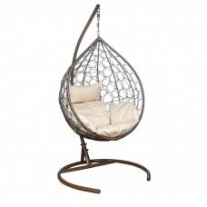 Подвесное кресло LESET Эва коричневое