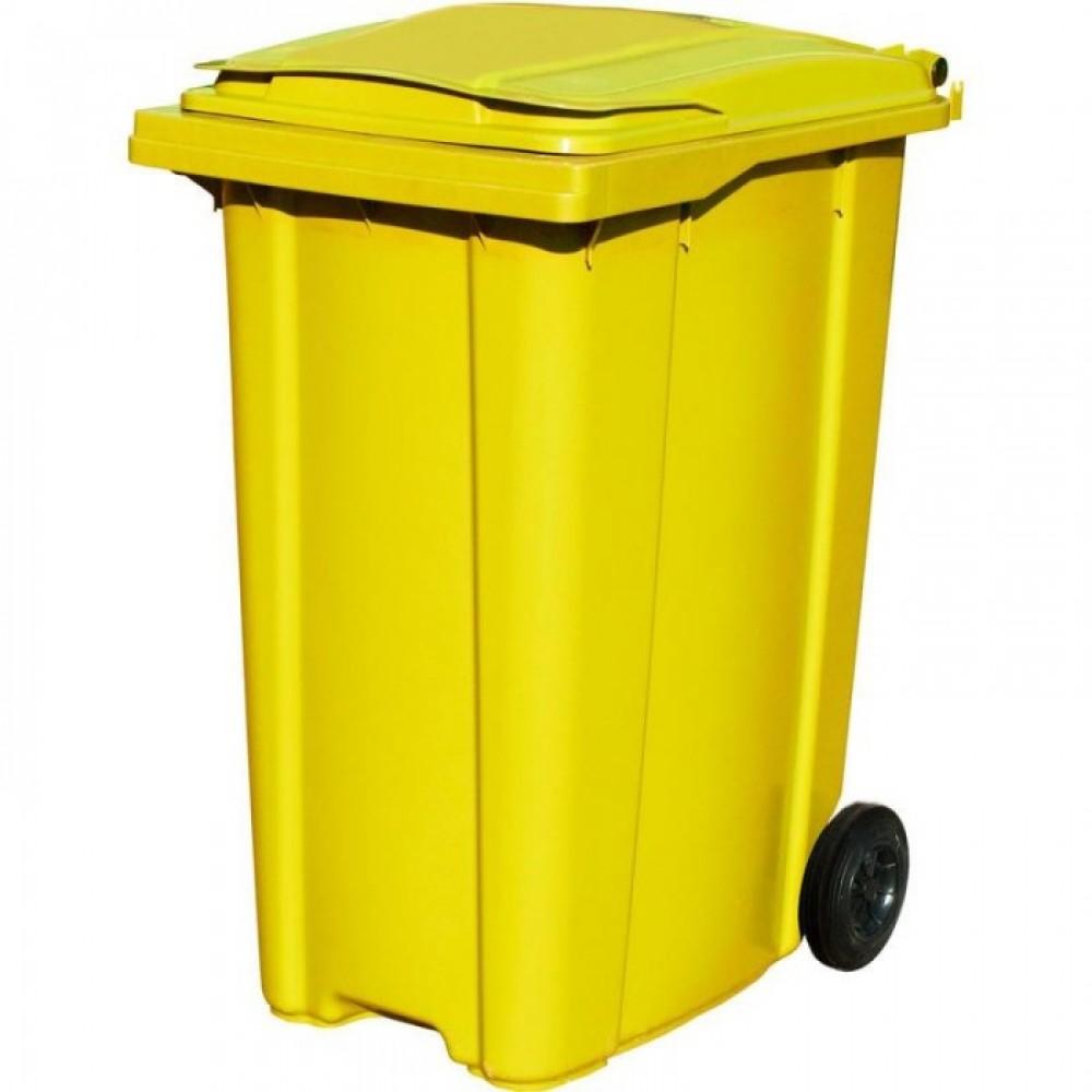 Мусорный контейнер ESE 360 л желтый (Германия)