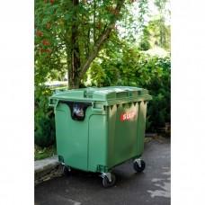 Мусорный контейнер SULO (Германия) 1100л зеленый
