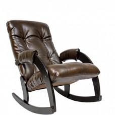 Кресло-качалка Мебель Импэкс Модель 67 венге/antik crocodile
