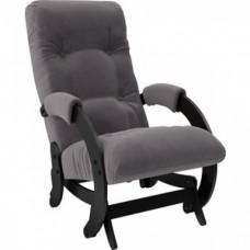 Кресло-качалка Мебель Импэкс Модель 68 венге/ Verona antrazite grey