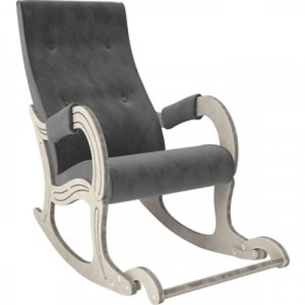 Кресло-качалка Мебель Импэкс Модель 707 дуб шампань/патина/ Verona antrazite grey