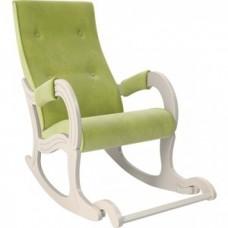 Кресло-качалка Мебель Импэкс Модель 707 дуб шампань/ Verona apple green
