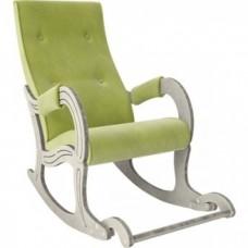 Кресло-качалка Мебель Импэкс Модель 707 дуб шампань/патина/ Verona apple green