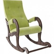 Кресло-качалка Мебель Импэкс Модель 707 орех антик/ Verona apple green