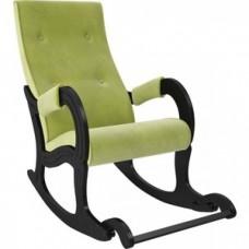 Кресло-качалка Мебель Импэкс Модель 707 венге/ Verona apple green