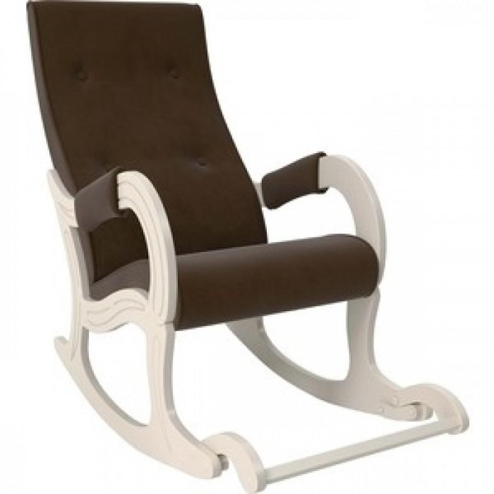 Кресло-качалка Мебель Импэкс Модель 707 дуб шампань/ Verona brown
