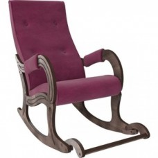 Кресло-качалка Мебель Импэкс Модель 707 орех антик/ Verona cyklam