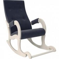 Кресло-качалка Мебель Импэкс Модель 707 дуб шампань/ Verona denim blue