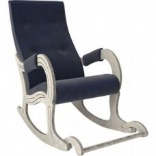 Кресло-качалка Мебель Импэкс Модель 707 дуб шампань/патина/ Verona denim blue
