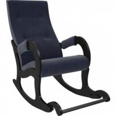 Кресло-качалка Мебель Импэкс Модель 707 венге/ Verona denim blue