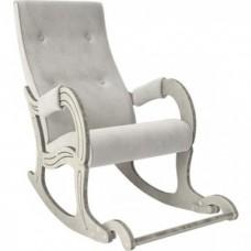 Кресло-качалка Мебель Импэкс Модель 707 дуб шампань/патина/ Verona light grey