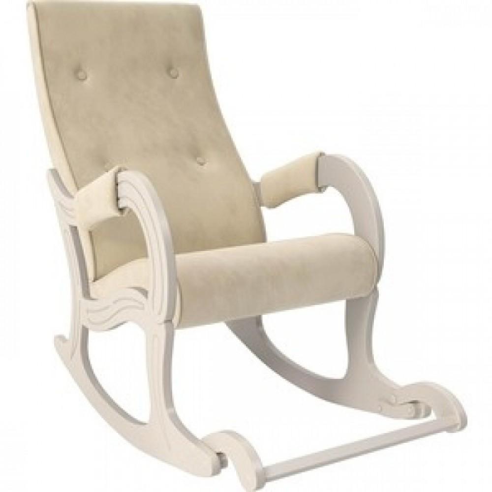 Кресло-качалка Мебель Импэкс Модель 707 дуб шампань/ Verona vanilla