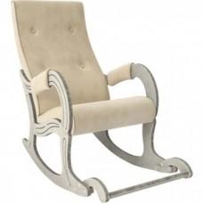 Кресло-качалка Мебель Импэкс Модель 707 дуб шампань/патина/ Verona vanilla