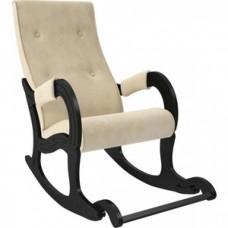 Кресло-качалка Мебель Импэкс Модель 707 венге/ Verona vanilla