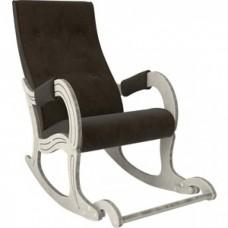 Кресло-качалка Мебель Импэкс Модель 707 дуб шампань/патина/ Verona wenge