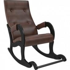 Кресло-качалка Мебель Импэкс Модель 707 венге, к/з antik crocodile