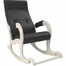 Кресло-качалка Мебель Импэкс Модель 707 дуб шампань, к/з Dundi 109