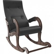 Кресло-качалка Мебель Импэкс Модель 707 орех антик, к/з Dundi 109