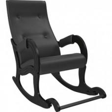 Кресло-качалка Мебель Импэкс Модель 707 венге, к/з Dundi 109
