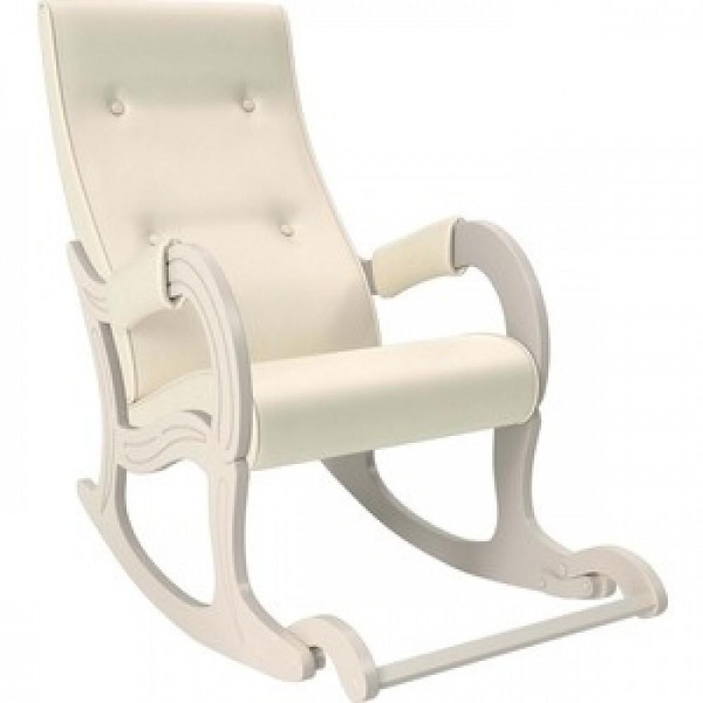 Кресло-качалка Мебель Импэкс Модель 707 дуб шампань, к/з Dundi 112