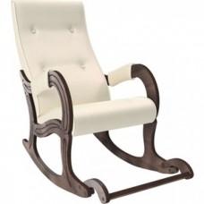 Кресло-качалка Мебель Импэкс Модель 707 орех антик, к/з Dundi 112