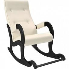 Кресло-качалка Мебель Импэкс Модель 707 венге, к/з Dundi 112