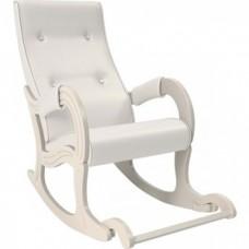 Кресло-качалка Мебель Импэкс Модель 707 дуб шампань, к/з Mango 002
