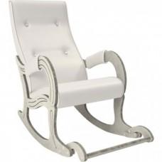 Кресло-качалка Мебель Импэкс Модель 707 дуб шампань/патина, к/з Mango 002