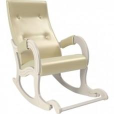 Кресло-качалка Мебель Импэкс Модель 707 дуб шампань, к/з Oregon perlamutr 106
