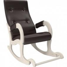 Кресло-качалка Мебель Импэкс Модель 707 дуб шампань, к/з Oregon perlamutr 120