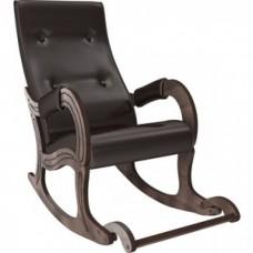 Кресло-качалка Мебель Импэкс Модель 707 орех антик, к/з Oregon perlamutr 120