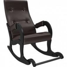Кресло-качалка Мебель Импэкс Модель 707 венге, к/з Oregon perlamutr 120