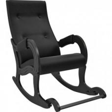 Кресло-качалка Мебель Импэкс Модель 707 венге, к/з Vegas lite black