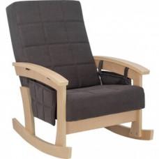 Кресло-качалка Импэкс Нордик натуральное дерево ткань Verona antrazite grey