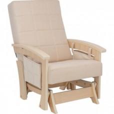 Кресло глайдер Импэкс Нордик натуральное дерево ткань Verona vanilla
