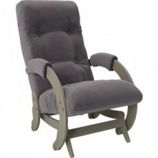 Кресло-качалка Импэкс Модель 68 серый ясень ткань Verona antrazite grey