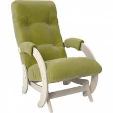 Кресло-качалка Импэкс Модель 68 дуб шампань ткань Verona apple green