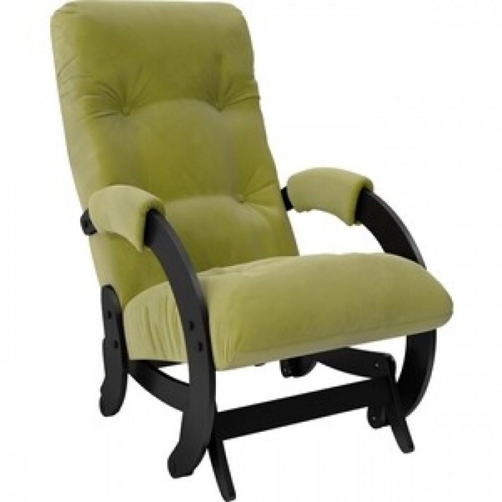 Кресло-качалка Импэкс Модель 68 венге ткань Verona apple green