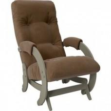 Кресло-качалка Импэкс Модель 68 серый ясень ткань Verona brown