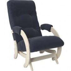 Кресло-качалка Импэкс Модель 68 дуб шампань ткань Verona denim blue